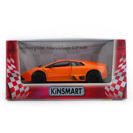 5  Die Cast  Lamborghini Murcielago Lp640  Orange