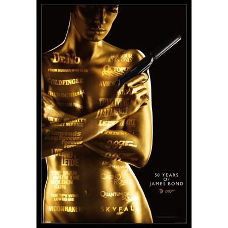 James Bond - 50th Anniversary Poster Poster Print](James Ensor Poster Halloween)