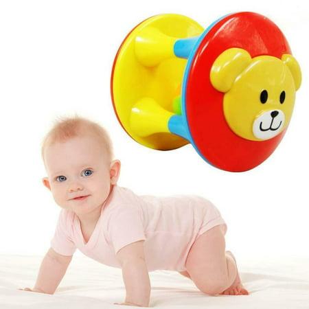 Cute Handbells Musical Developmental Toy Bed Bells Kids Baby Toys Rattle