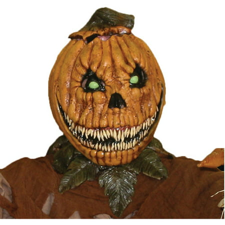 Pumpkin Rot Halloween Latex Mask - Pumpkin Mask Printable Halloween