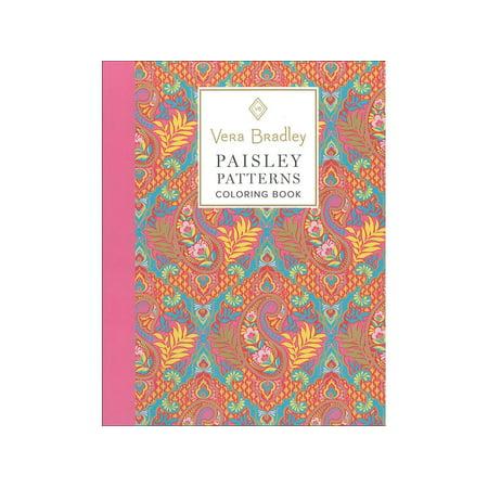 Design Originals Vera Bradley Paisley Coloring Bk (Vera Bradley Ribbon Board)