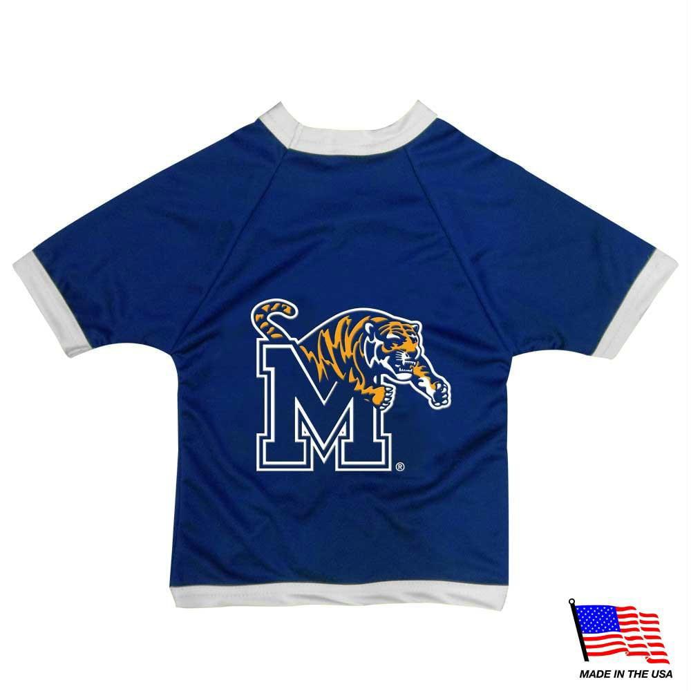 Memphis Tigers Athletic Mesh Pet Jersey - Tiny