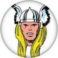 Marvel Comics Thor Portrait Button 81724