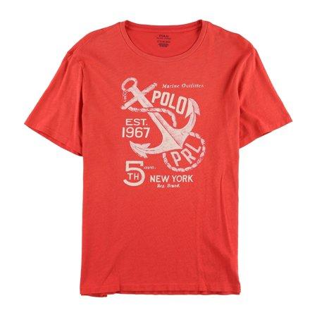 Ralph Lauren Mens Marine Outfitter Graphic T-Shirt
