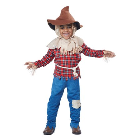 Harvest Time Scarecrow Toddler Costume