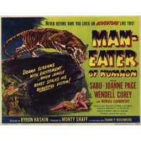 """Man-Eater of Kumaon - movie POSTER (Style A) (11"""" x 14"""") (1948)"""