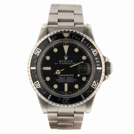 Pre-Owned Rolex Submariner 1680 Steel Watch (Certified Authentic & Warranty)