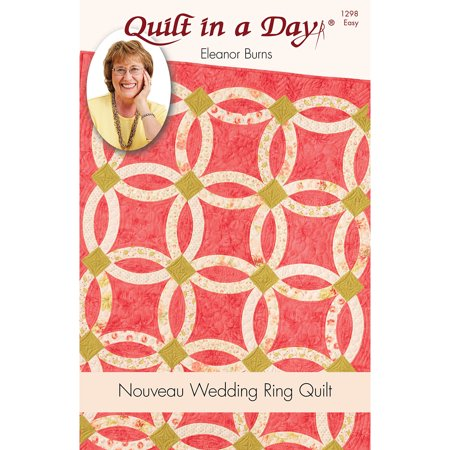 Wedding Ring Quilt Pattern.Eleanor Burns Patterns Nouveau Wedding Ring Quilt
