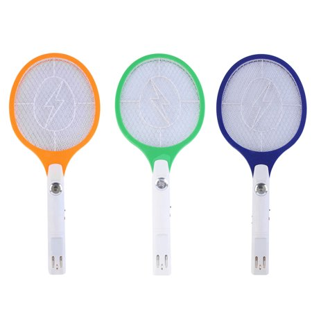 Rechargeable LED Electric Bug Pest Fly Mosquito Killer Swatter Zapper Racket - Giant Fly Swatter