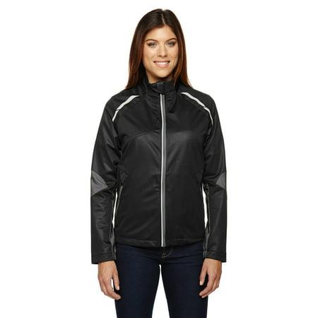 Ash City - North End Ladies' Dynamo Three-Layer Lightweight Bonded Performance Hybrid Jacket -