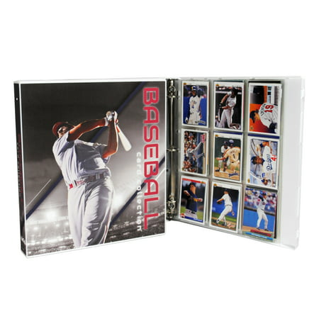 Ultimate Baseball Trading Card Collection Album Kit 25 Pages