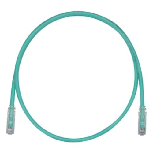 Panduit Cat.6 Utp Patch Cord - Rj-45 Male Network - Rj-45 Male Network - 25ft - Green, Clear (utpsp25gry)