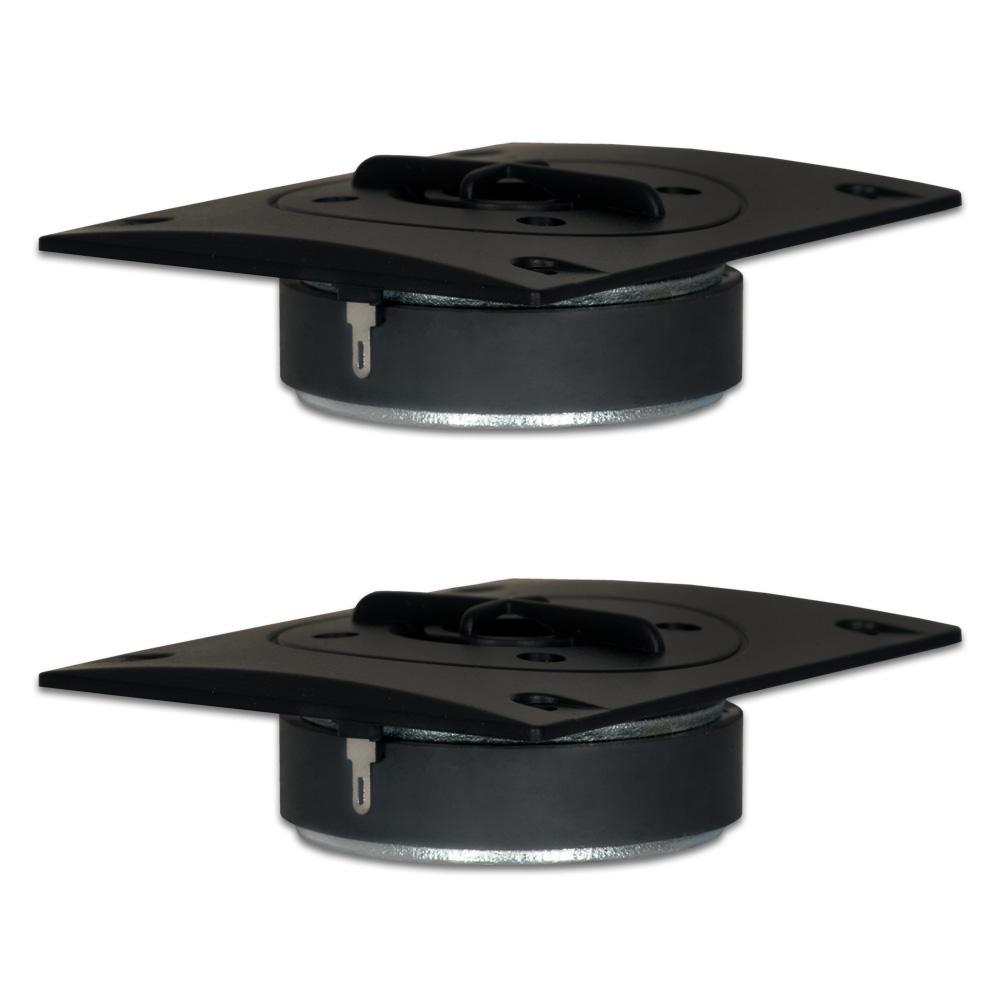 2 Goldwood Sound GT-336 Titanium Dome Tweeters 120 Watt each8ohm Replacement Tweeters