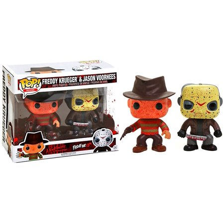 Funko POP! Movies Freddy Krueger & Jason Voorhees Vinyl Figure 2-Pack - Jason Voorhees 1981