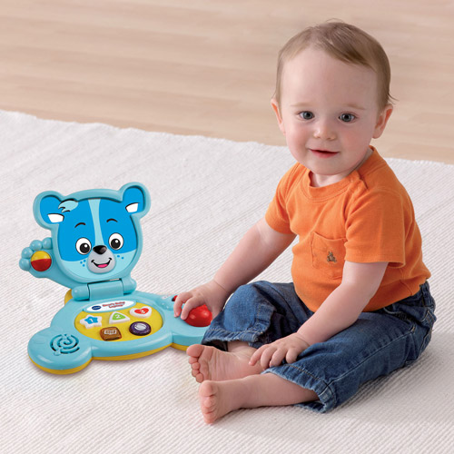 VTech Bear's Baby Laptop, Blue