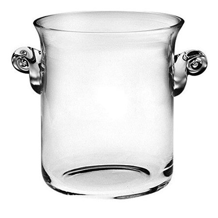 majestic gifts t-704 classic clear high quality glass imberly ice - Gift Buckets