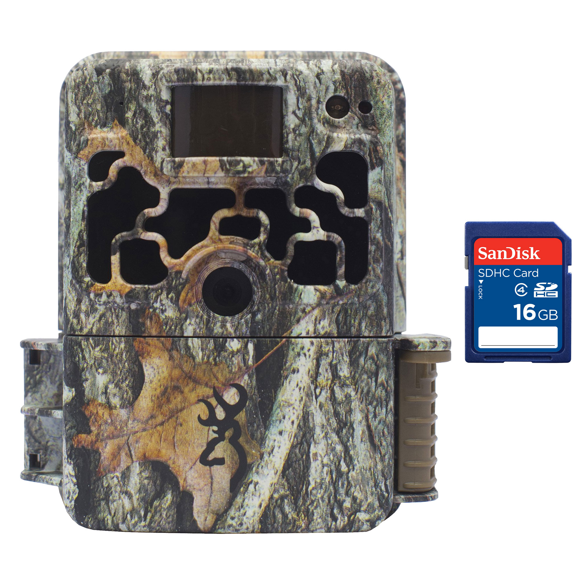 Browning Trail Cameras Dark Ops Elite 10MP Infrared Game Camera + 16GB SD Card by Browning Trail Cameras