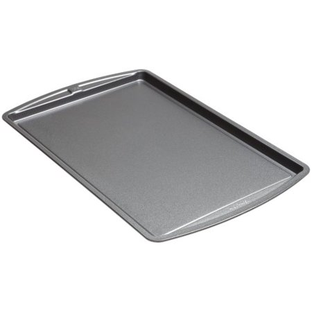 Non Stick Medium Cookie - goodcook Medium Non-Stick Cookie Baking Sheet