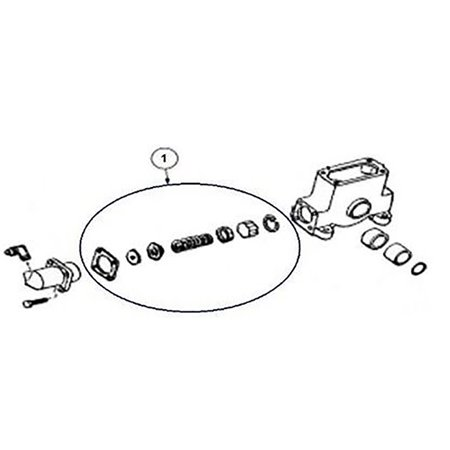 404906 Aftermarket New Cylinder Repair Kit Gearmatic 19