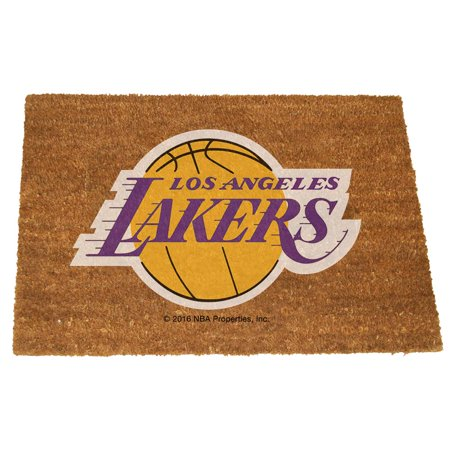 Los Angeles Lakers Color Exterior Doormat by