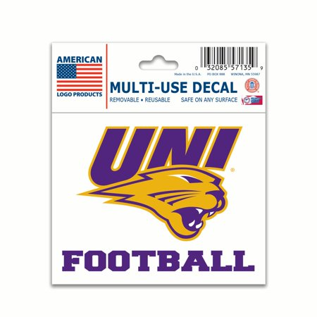 """Northern Iowa Panthers Official NCAA 3"""" x 4"""" Automotive ..."""