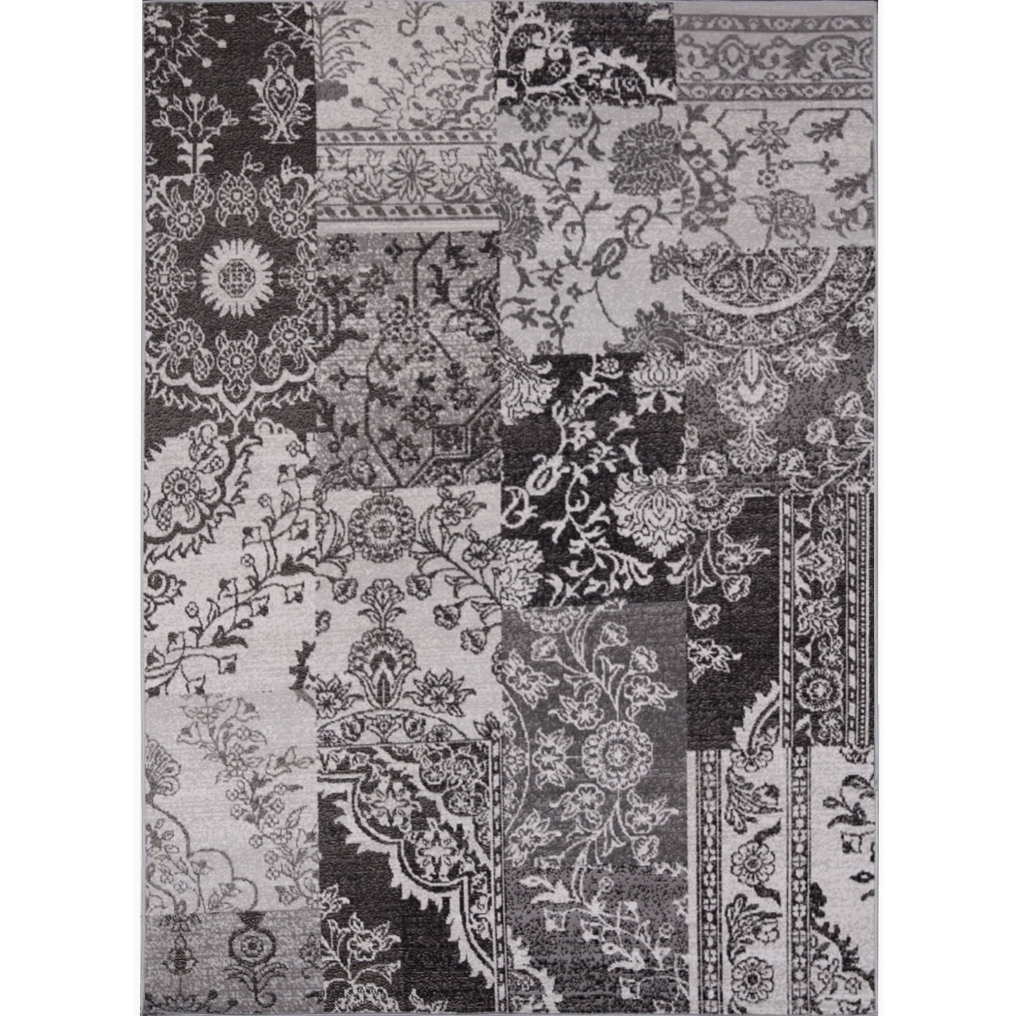 Home Dynamix Somerset Collection Floral Transitional Indoor/Outdoor Machine  Woven Polypropylene Area Rug