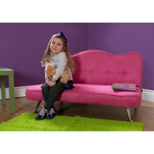 DHP Rose Junior Sofa Lounger - Racy Pink