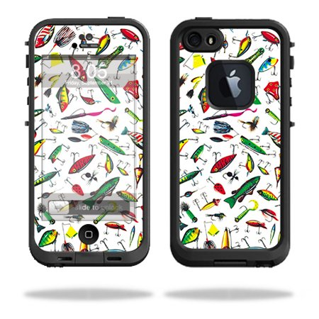 Skin For LifeProof iPhone 5 / 5S Fre Case – Bright Lures | MightySkins Protective, Durable, and Unique Vinyl Decal wrap cover | Easy To Apply, Remove, and Change Styles | Made in the USA - Halloween In 5s Online Office
