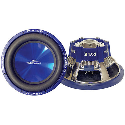 """Pyle Blue Wave 12"""" 1200W High-Powered Subwoofer"""