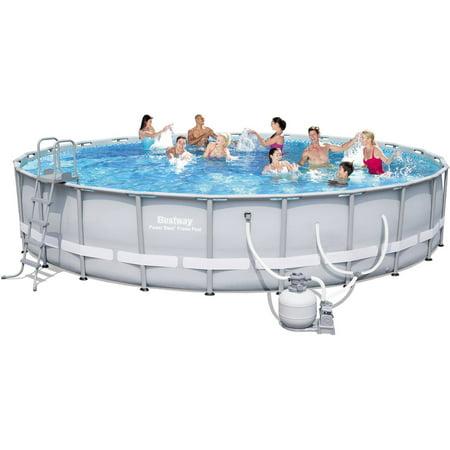 Bestway power steel frame pool set 24 39 x 52 - Bestway power steel frame pool ...