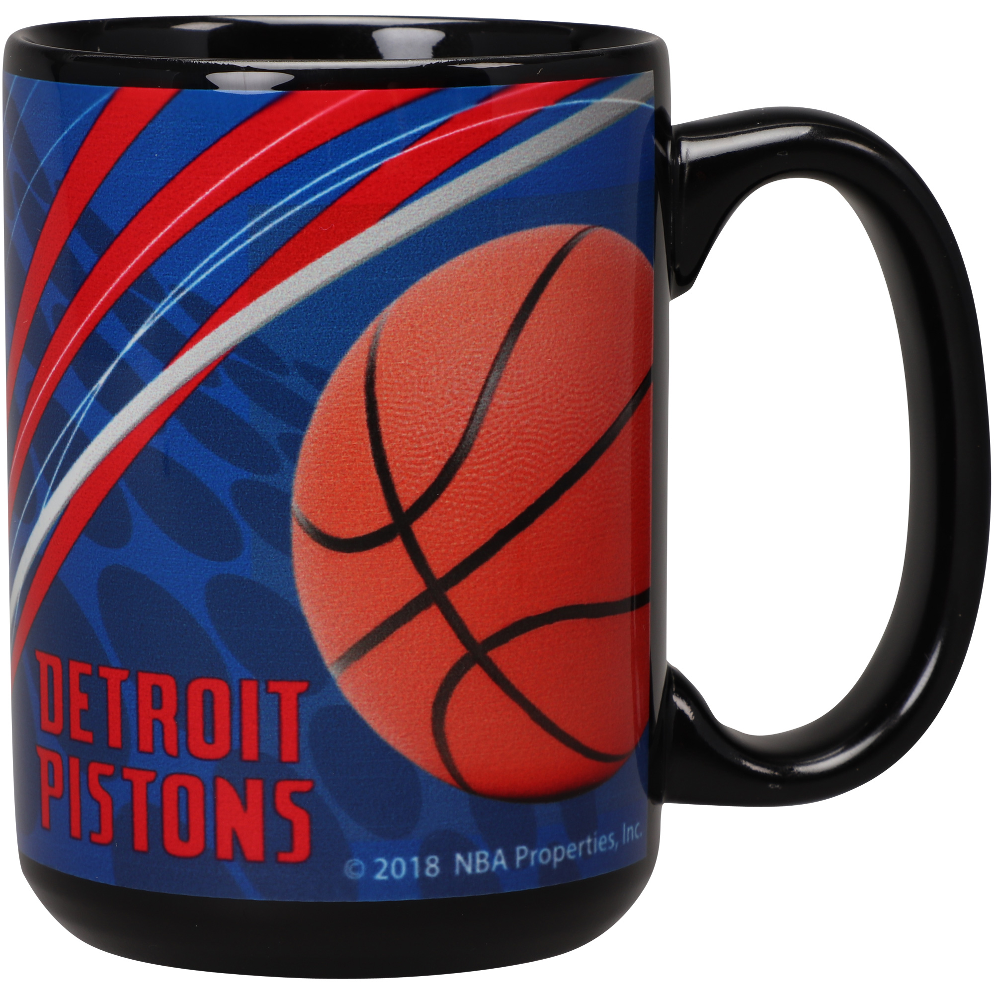 Detroit Pistons 15oz. Dynamic Mug - No Size