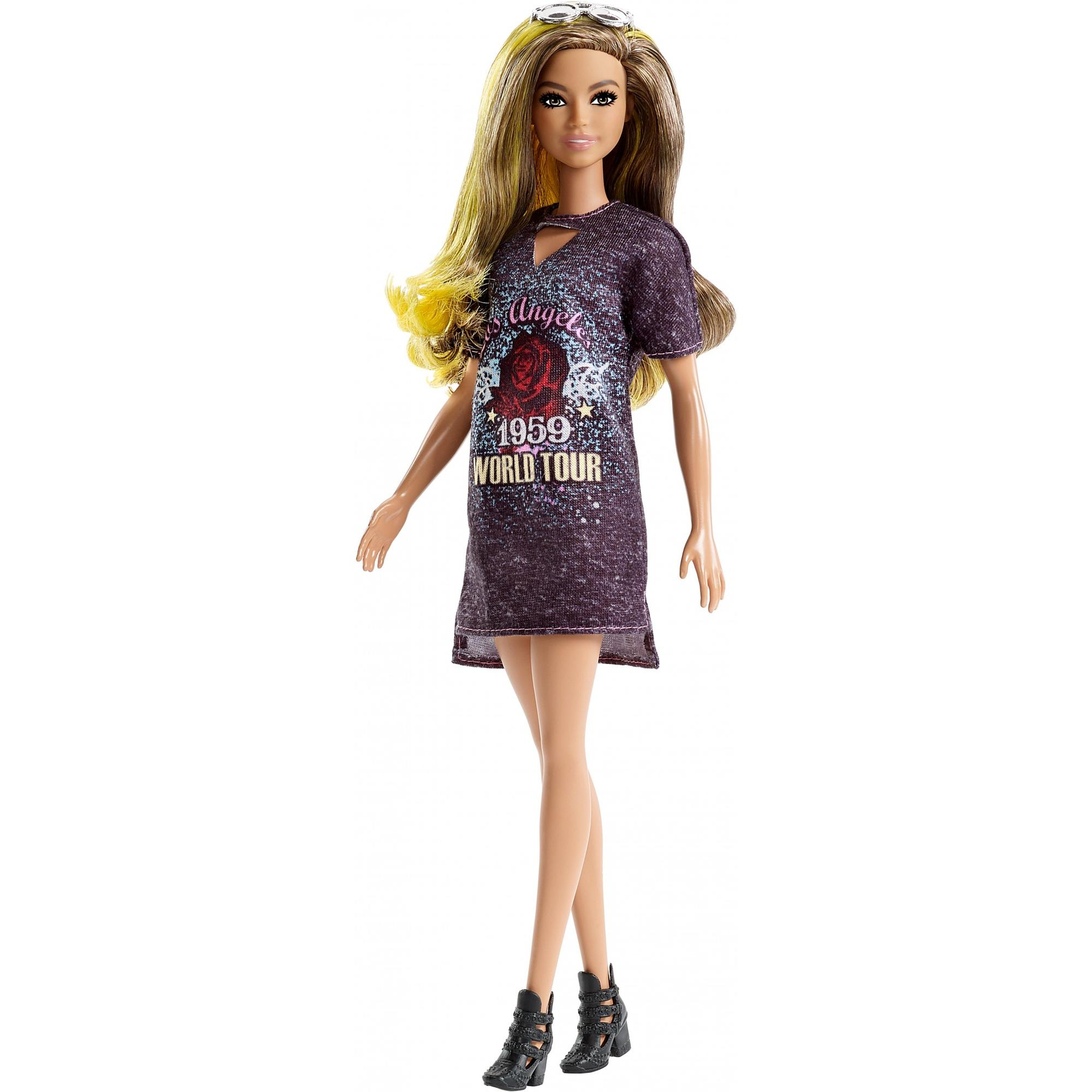 Barbie Fashionistas Doll 87, Ombre Hair by Mattel