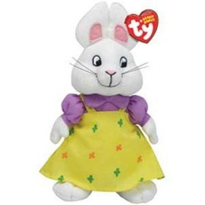 Ruby Sister Bunny Beanie Baby (Max   Ruby) - Stuffed Animal by Ty ... 90ce755fe4ef