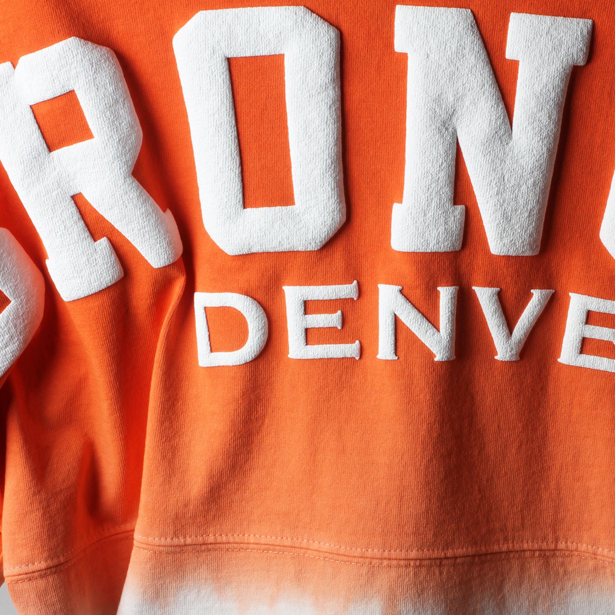 488747d8 Denver Broncos Pro Line by Fanatics Branded Women's Spirit Jersey Long  Sleeve T-Shirt - Orange/Navy - Walmart.com