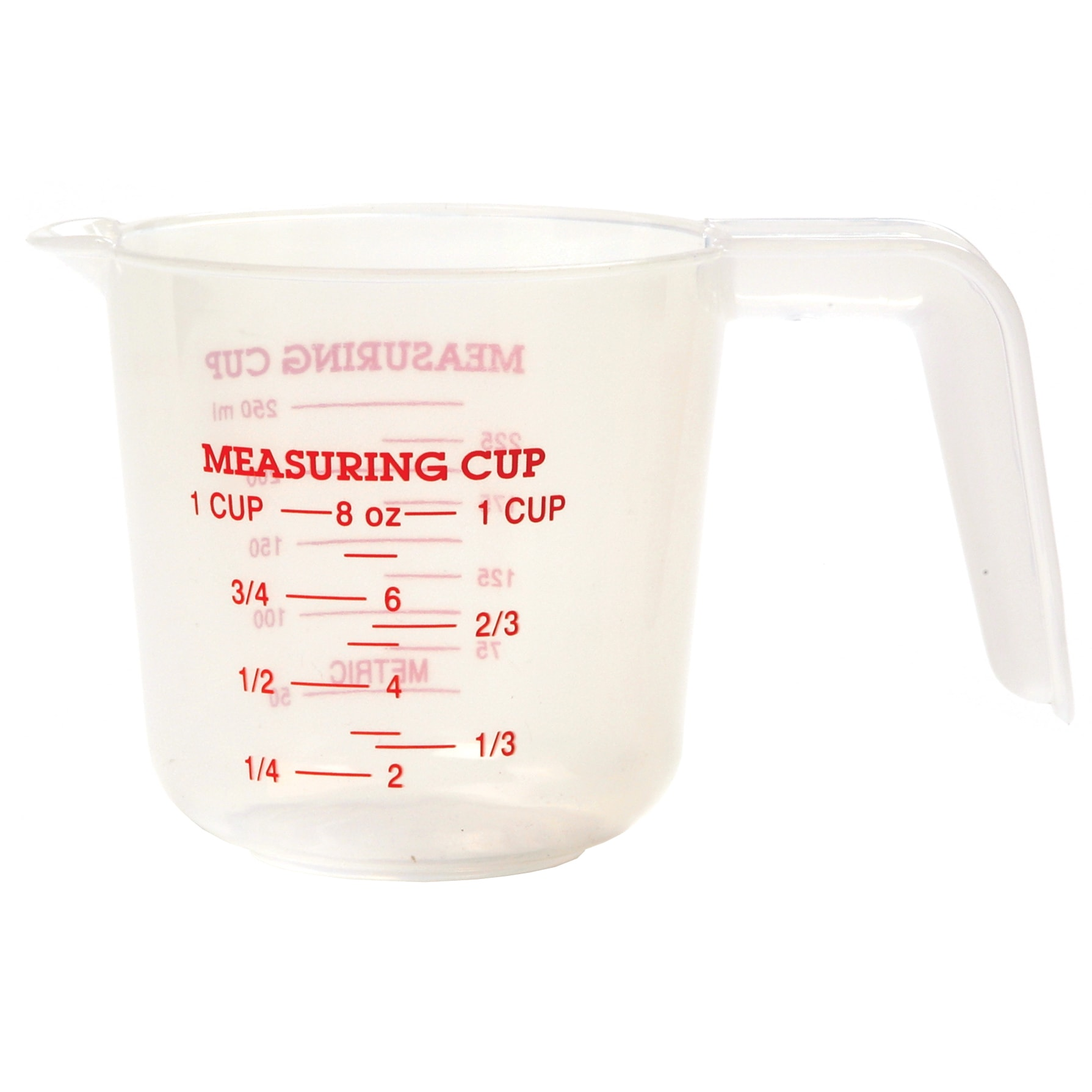 Dollhouse Miniatures Plastic Measuring Cup Kitchen Tools Supply