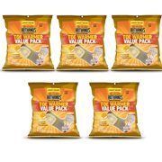 5 Pack HotHands Adhesive Toe Warmer 6 pair per pack Value Pack