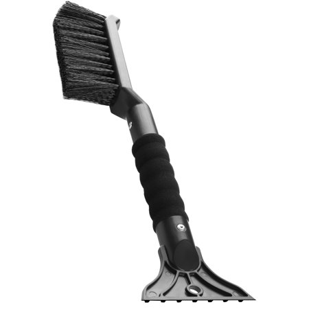 2-in-1 Snow Brush and Ice Scraper for Cars, Trucks,