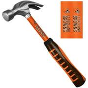Sainty 08308 Cleveland Browns 16oz Steel Hammer