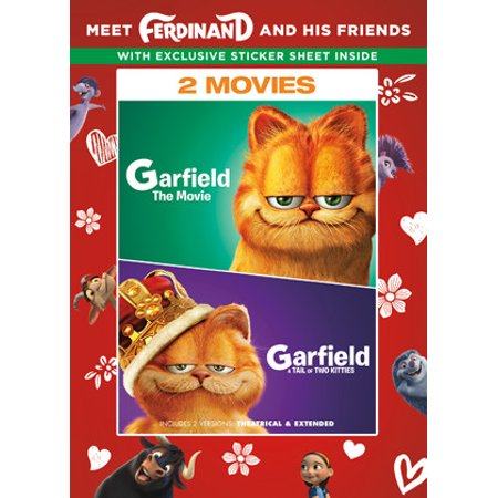 Garfield The Movie / Garfield A Tail of Two Kitties (Walmart Exclusive) (DVD)](Watch Garfield Halloween Movie)