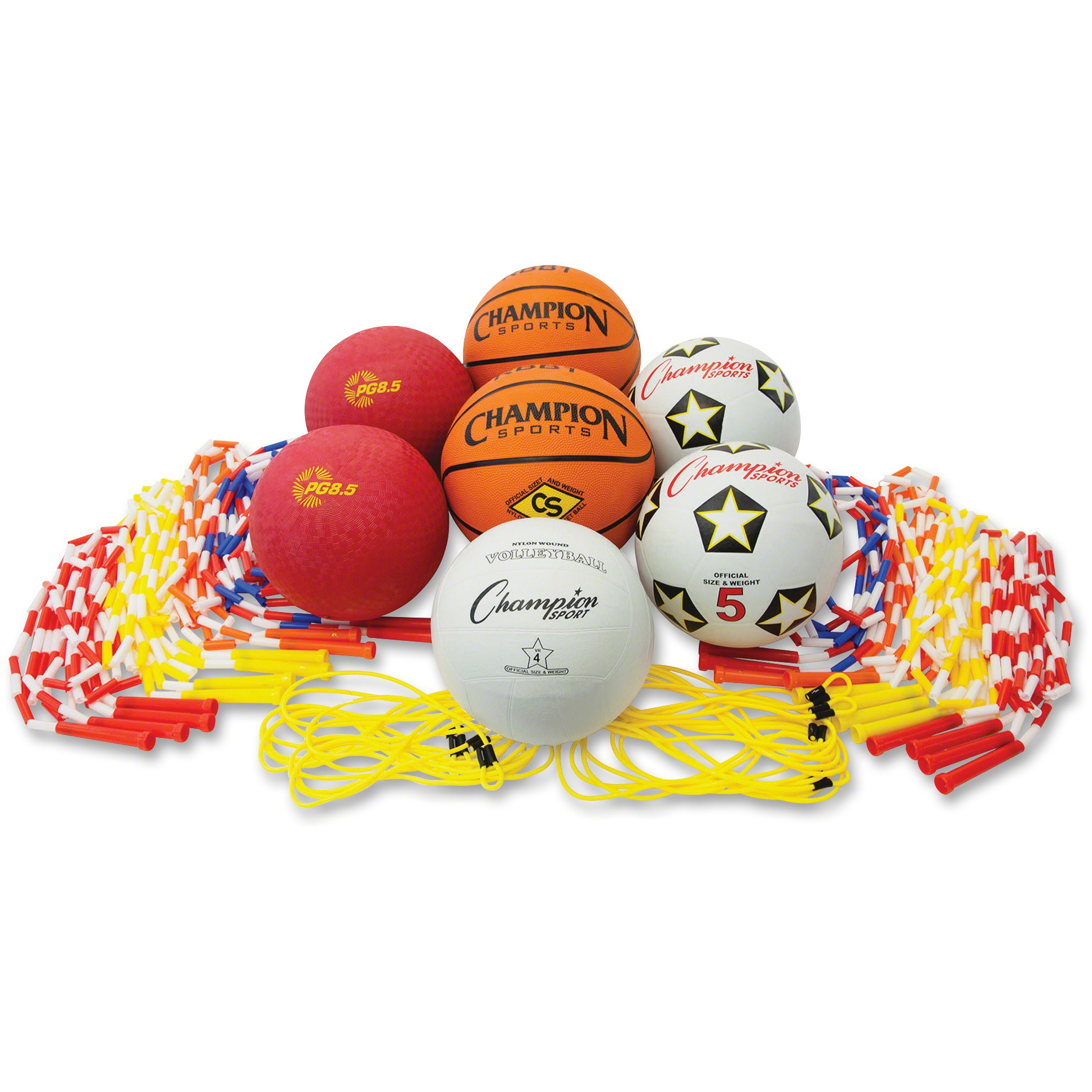 Champion Sport, CSIUPGSET2, s Physical Education Kit, 1, Assorted