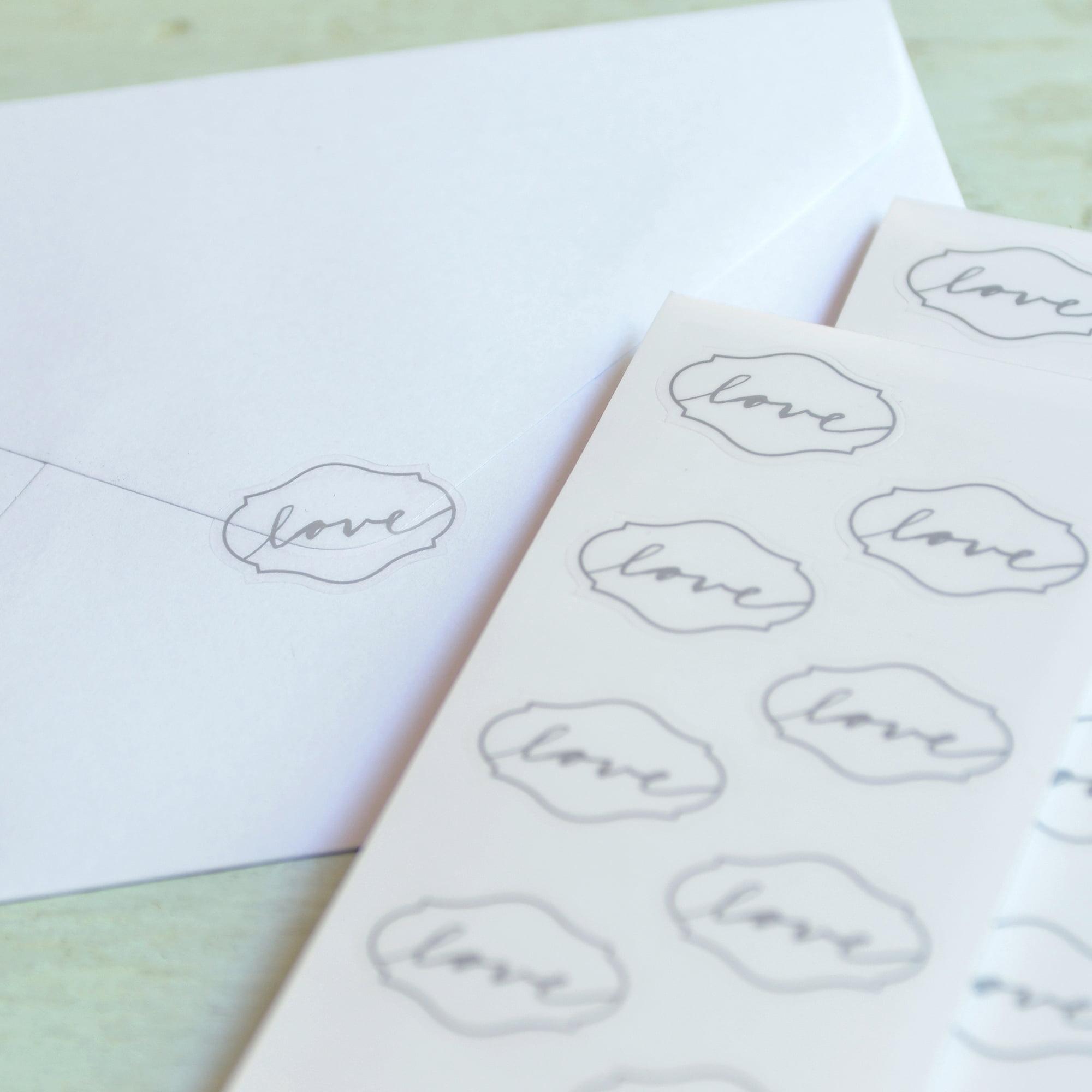 Gartner Studios Love Seals, 50pk