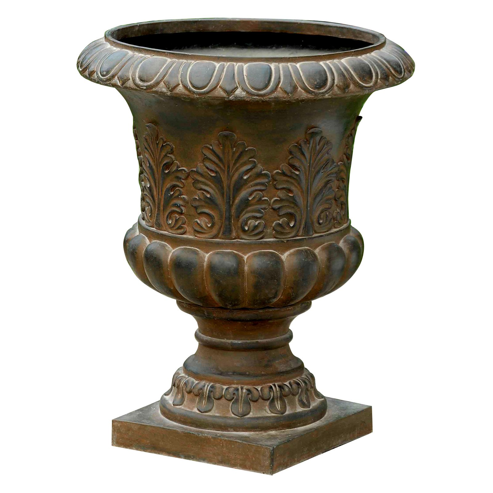 Winsome House Classic Rustic Urn Planter by