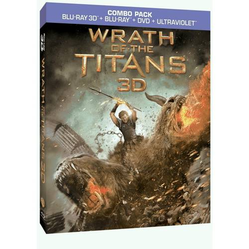 Wrath Of The Titans (3D Blu-ray + Blu-ray + DVD + Digital Copy) (With INSTAWATCH) (Widescreen)