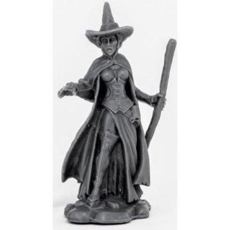 Wicked Witch Wild West Wizard Of Oz Miniature 25mm Heroic Scale Chronoscope Bones