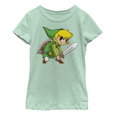 Nintendo Girls' Legend of Zelda Spirit Tracks Link - School Spirit Clothing Ideas