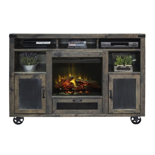 Laurel Foundry Modern Farmhouse Narbonne TV Stand With Electric Fireplace