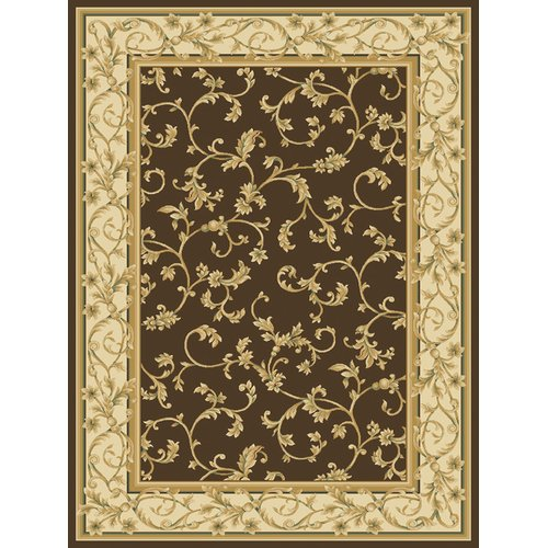 Central Oriental Radiance Felix Brown Rug