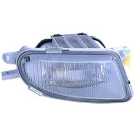 Compatible 2000 - 2003 Mercedes Benz E320 Fog Light Lamp Assembly Replacement Housing / Lens / Cover - Right (Passenger) 170 820 02 56 MB2593101 Replacement For Mercedes-Benz E320