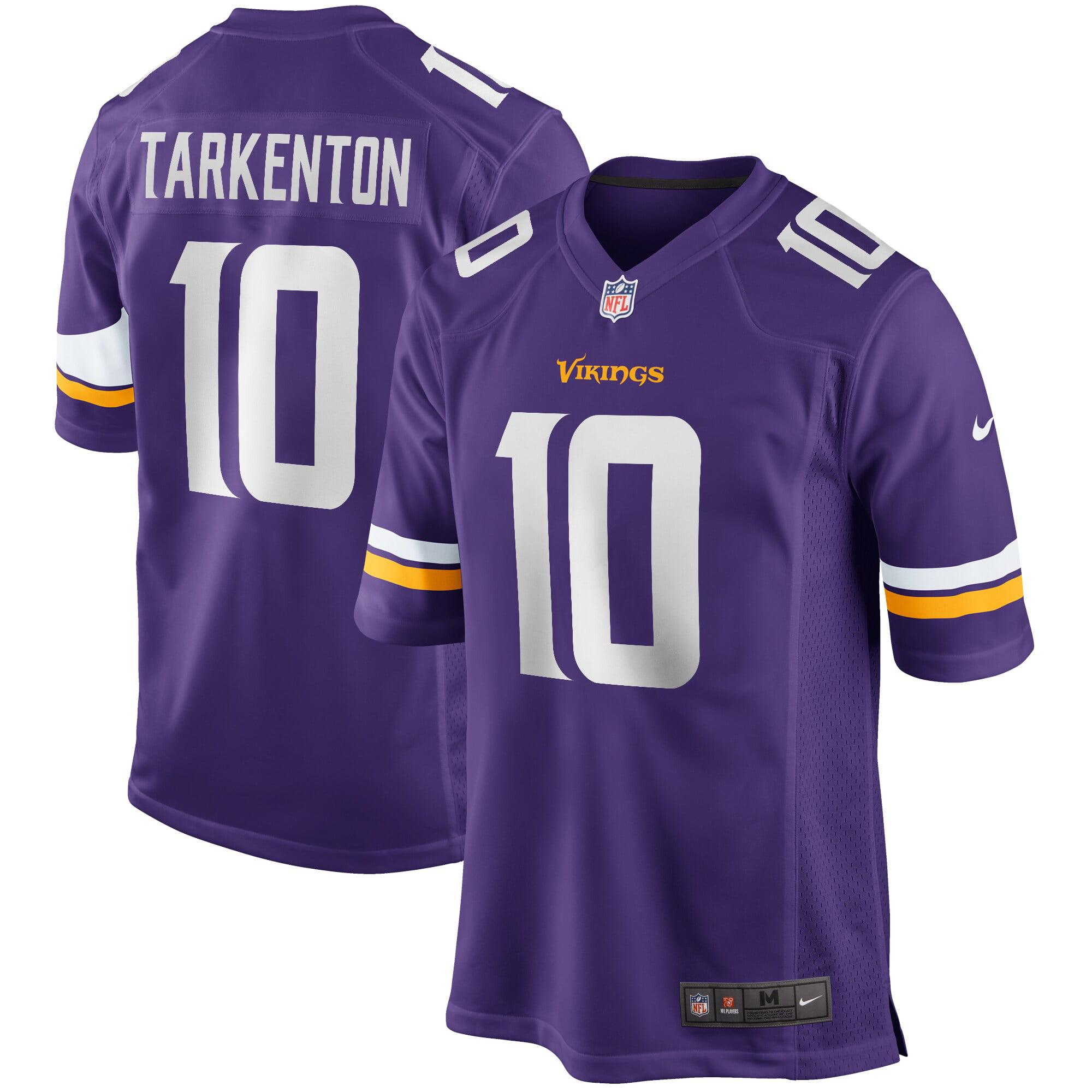 Fran Tarkenton Minnesota Vikings Nike Game Retired Player Jersey - Purple - Walmart.com