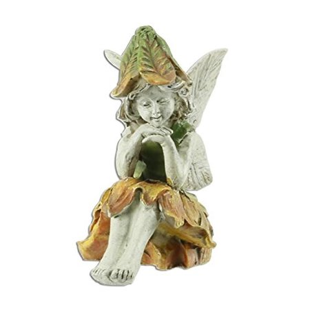 f9830a6018883 Wholesale Fairy Gardens Miniature Garden Fairy Kelly Sitting with Hat -  Walmart.com